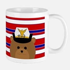 Coast Guard Female Officer Spirit Bear Mugs