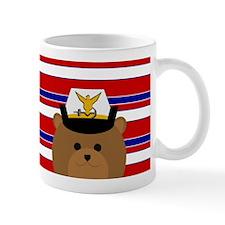 Coast Guard Female Officer Spirit Bear Mugs
