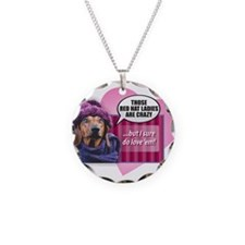 Cute Knitting mom Necklace