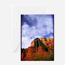 Chapel of the Holy Cross #R816 Greeting Card