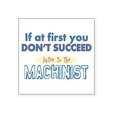 Machinist Sticker