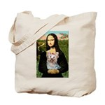 Mona & her Yorkie (T) Tote Bag