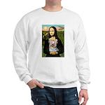 Mona & her Yorkie (T) Sweatshirt