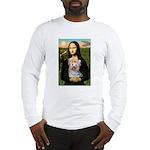 Mona & her Yorkie (T) Long Sleeve T-Shirt