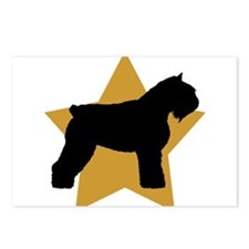 Gold Star Bouvier Postcards (Package of 8)