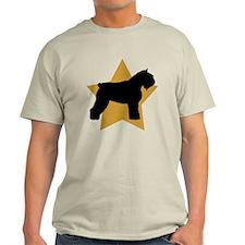Gold Star Bouvier T-Shirt