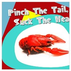 Pinch the Tail Suck the Head Framed Print