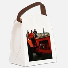 A Tractor Parade Canvas Lunch Bag