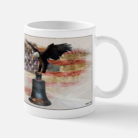 Cute Liberty bell Mug