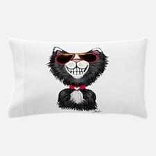 Black-White Cartoon Cat (sg) Pillow Case