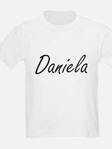 Daniela artistic Name Design T-Shirt