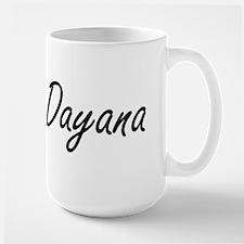 Dayana artistic Name Design Mugs