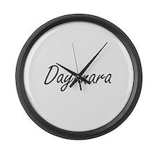 Dayanara artistic Name Design Large Wall Clock