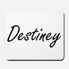 Destiney artistic Name Design Mousepad