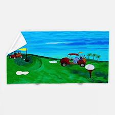 Golf Bath Or Beach Towel
