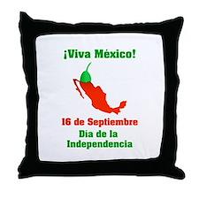 Viva México Throw Pillow