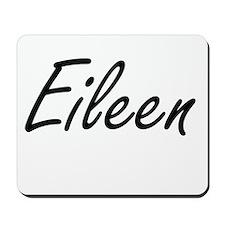 Eileen artistic Name Design Mousepad