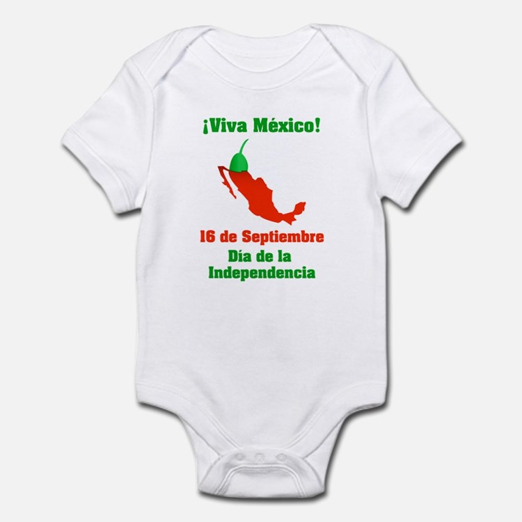 Viva México Infant Bodysuit