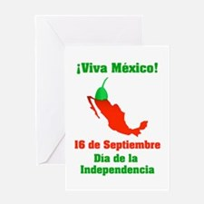 Viva México Greeting Card