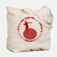 SHOT PUT (both sides) Tote Bag