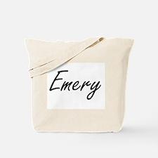 Emery artistic Name Design Tote Bag