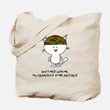 dont mess with me..grandson a Tote Bag