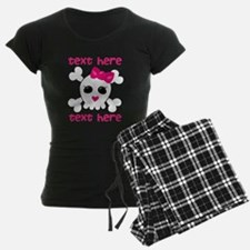 Pink Skull Pajamas