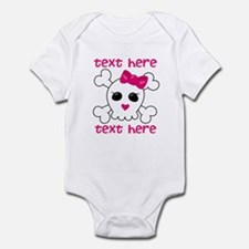 Pink Skull Infant Bodysuit