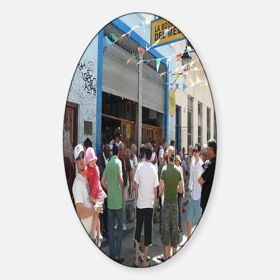 Bodeguita del medio La Havane Cuba Sticker (Oval)