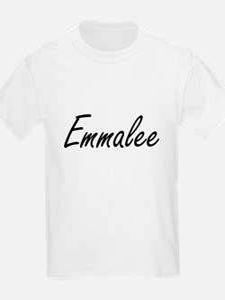 Emmalee artistic Name Design T-Shirt