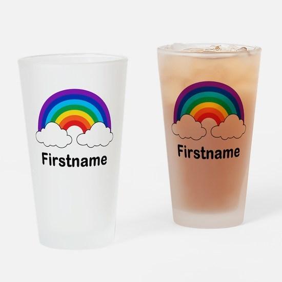 Rainbow (p) Drinking Glass