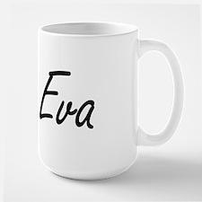 Eva artistic Name Design Mugs
