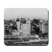 Michigan Avenue in Chicago (1911) Mousepad
