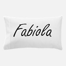 Fabiola artistic Name Design Pillow Case