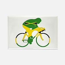 Jamaica Cycling Rectangle Magnet