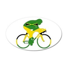 Jamaica Cycling Wall Decal