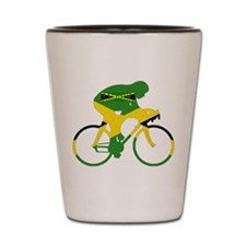 Jamaica Cycling Shot Glass