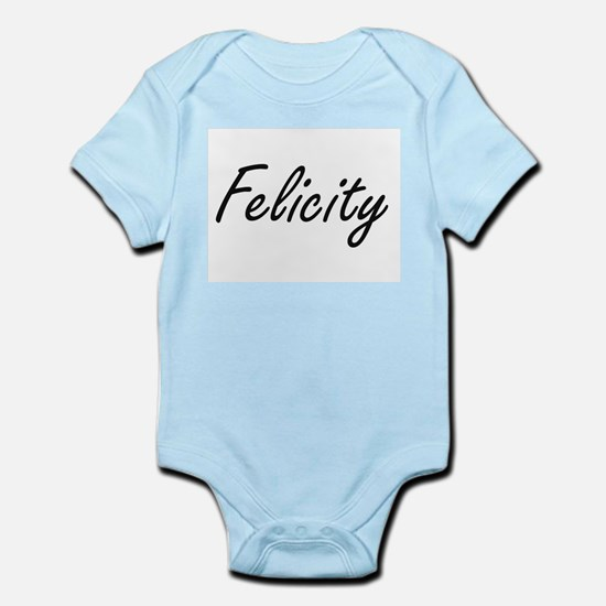 Felicity artistic Name Design Body Suit