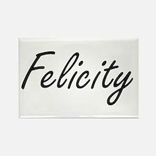 Felicity artistic Name Design Magnets