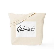 Gabriela artistic Name Design Tote Bag