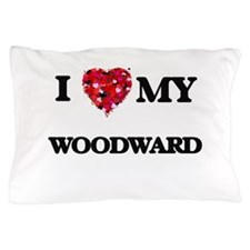 I Love MY Woodward Pillow Case