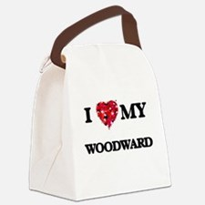 I Love MY Woodward Canvas Lunch Bag