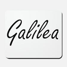 Galilea artistic Name Design Mousepad
