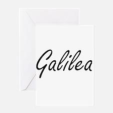 Galilea artistic Name Design Greeting Cards