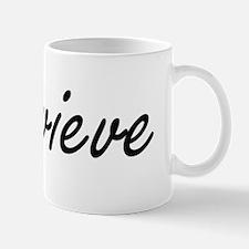 Genevieve artistic Name Design Mug