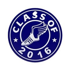 Class of 2016 Track Ornament (Round)