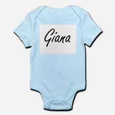 Giana artistic Name Design Body Suit