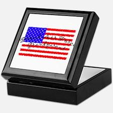 Proud Air Force Grandparent Keepsake Box