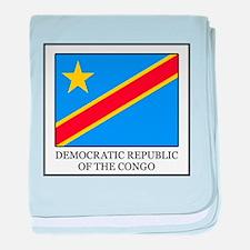 Democratic Republic of the Congo baby blanket