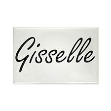 Gisselle artistic Name Design Magnets